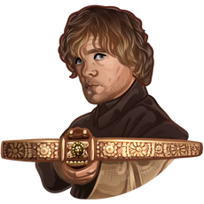 Tyrion Lannister with a Crossbow
