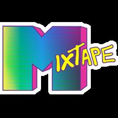MixTape MTV Logo Style Sticker