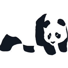 Enjoi Panda Logo Sticker