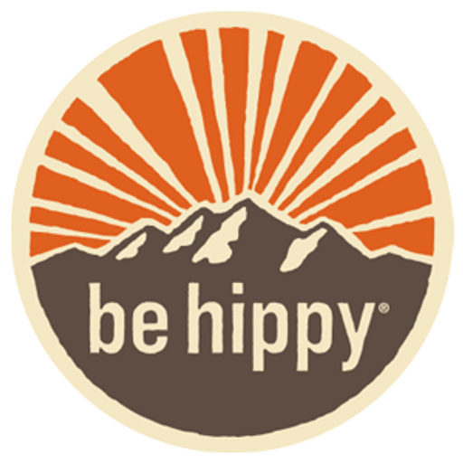 Be Hippy Logo Sticker