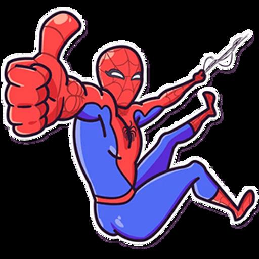 Spider-Man Like Sticker
