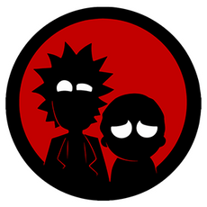 Rick and Morty minimal dark