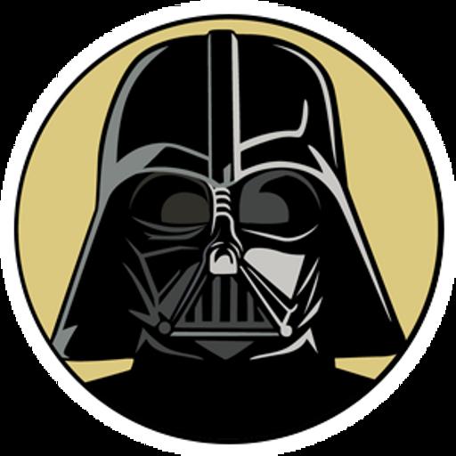 Star Wars Darth Vader Round Sticker