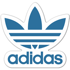 Adidas Originals Blue Logo Sticker