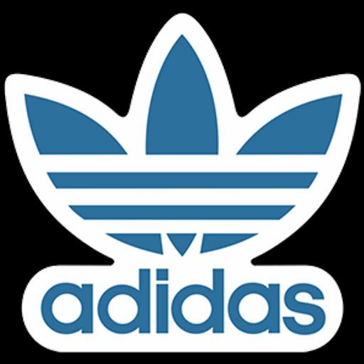 Adidas Originals Blue Logo Sticker