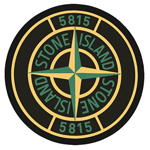 Stone Island Logo Sticker