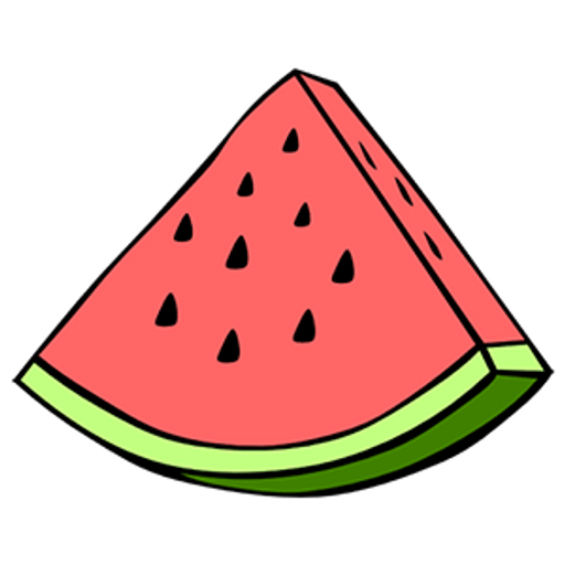 Watermelon Slice Sticker