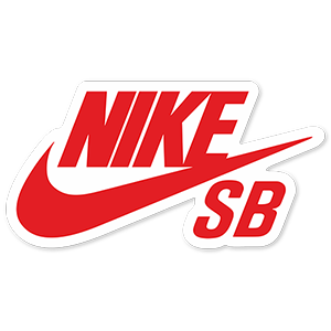 Nike SB Red Logo Sticker