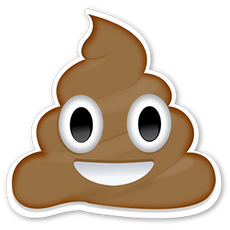 Emoji Pile of Poo Sticker