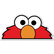 Sesame Street Elmo Christmas Sticker