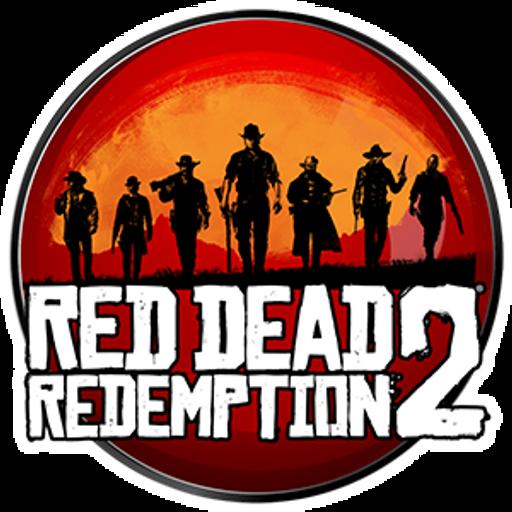 Red Dead Redemption 2 Round Sticker