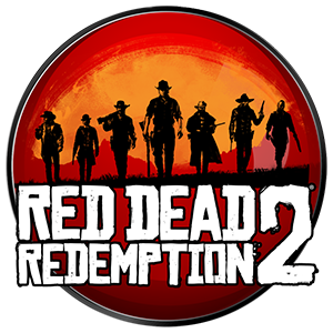 Red Dead Redemption 2 Round Sticker