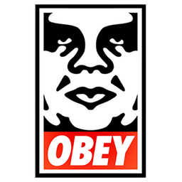 Obey Sticker