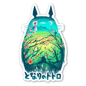 My Neighbor Totoro by Victor Vercesi sticker