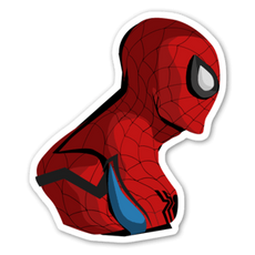 Spider-Man Aware Sticker
