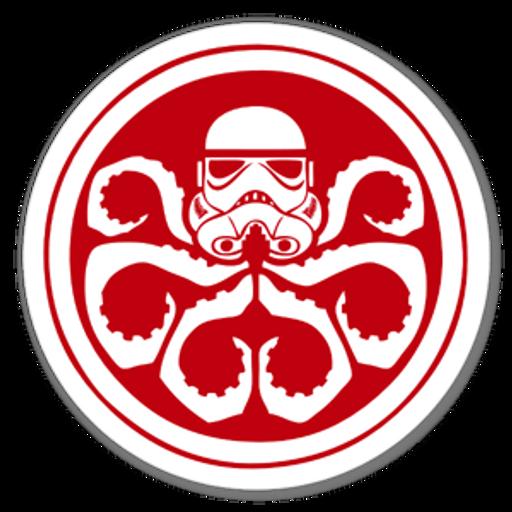 Marvel x Star Wars Stormtrooper Hydra Logo Sticker