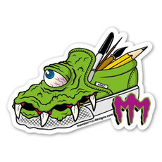Monster Shoes Sticker