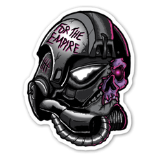 Star Wars Stormtrooper Zombie Sticker