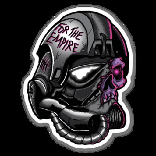 Star Wars Stormtrooper Zombie Sticker