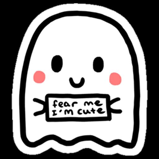 Cute Ghost Sticker