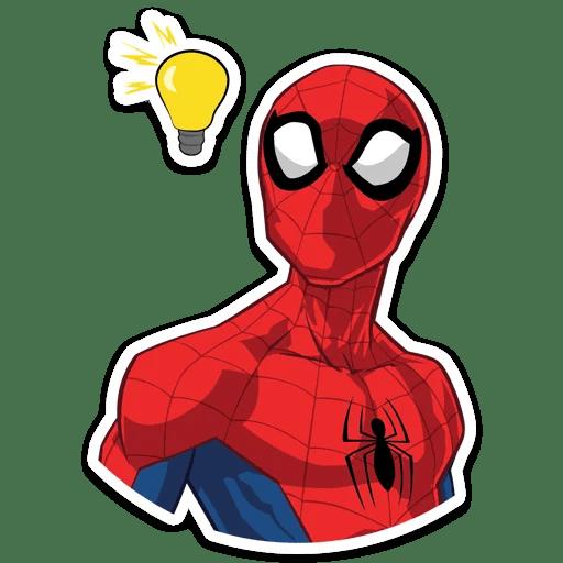 Spider-Man Idea Sticker