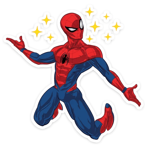 Spider-Man Kawaii Stars