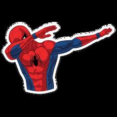 Spider-Man Dab Sticker