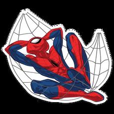 Spider-Man Web Hammock Sticker