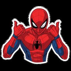 Spider-Man Thumbs Up Sticker