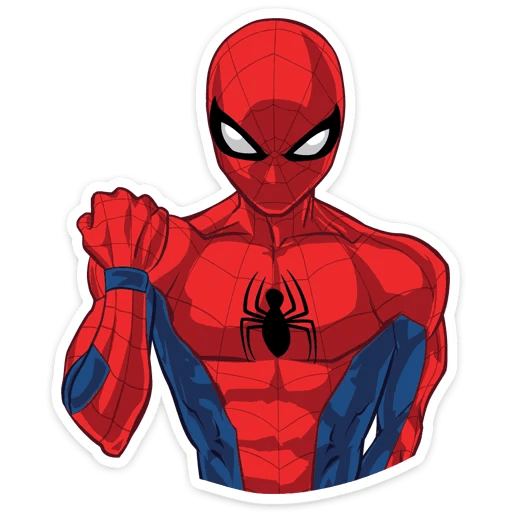 Spider-Man Power Sticker