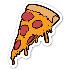 Slice of Pizza Sticker