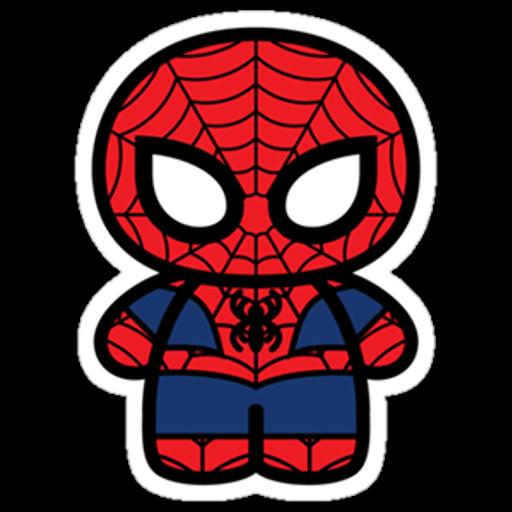Marvel Chibi Spider-Man Sticker