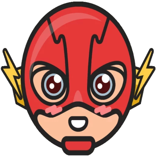 DC Chibi The Flash Sticker
