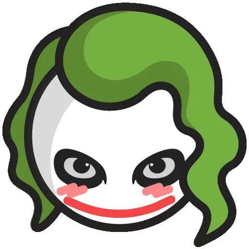 DC Chibi Joker Sticker