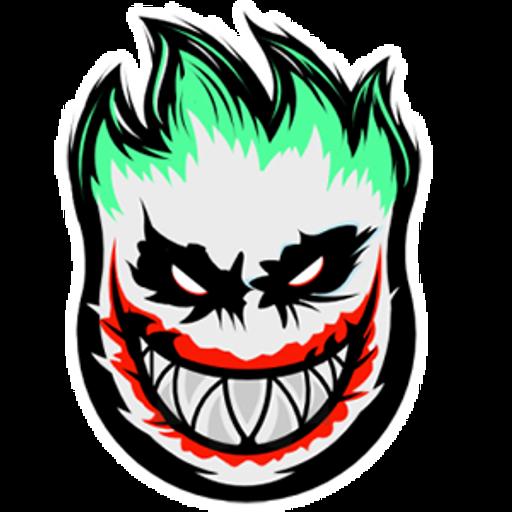 DC Joker Spitfire Logo Sticker
