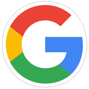 G Google Icon Logo Sticker