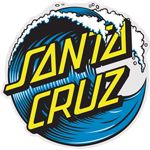Santa Cruz Wave Dot Logo