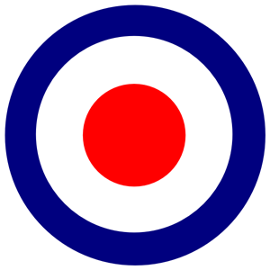 Royal Air Force logo Bullseye