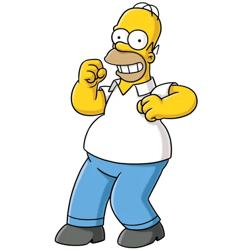 Homer Simpson Happy Dancing