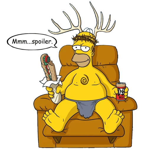 Homer Simpson Spoofs True Detective's Yellow King