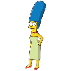 Marge Simpson The Simpsons Character Sticker