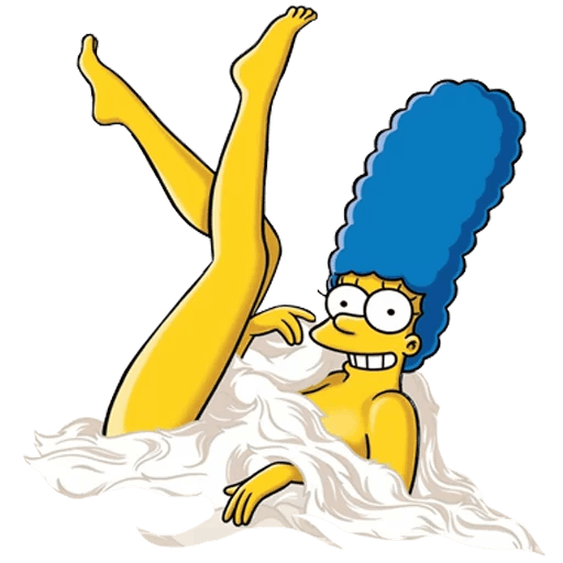Marge Simpson from Playboy