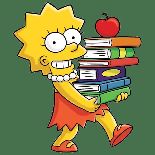 Lisa Simpson Study Motivation