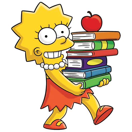 Lisa Simpson Study Motivation