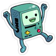 Adventure Time - BMO Yey