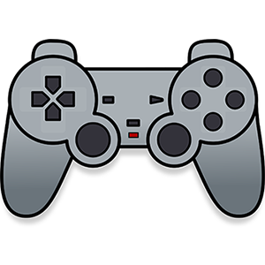 Grey PlayStation Controller Sticker