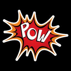 Pow Comics Style Sticker