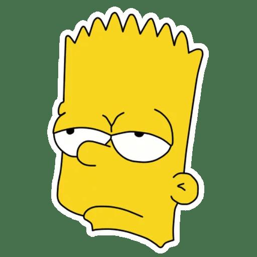 Bart Simpson Unamused