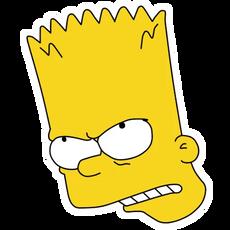 Bart Simpson Angry