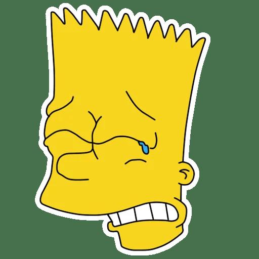 Bart Simpson Crying